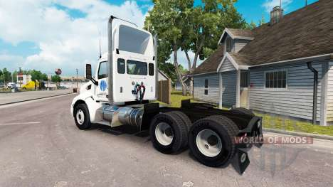 Nachbarn skin für den truck Peterbilt für American Truck Simulator
