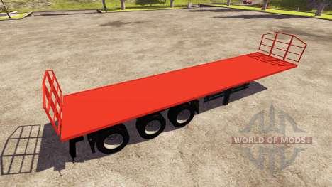 Der Trailer Agroliner 40 für Farming Simulator 2013