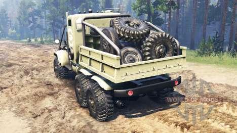 Cherry-255 B1 Krokodil für Spin Tires