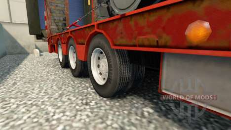 Doppel Räder für Anhänger für Euro Truck Simulator 2