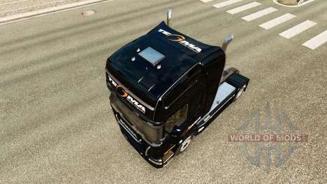 Tegma Logistique de la peau pour Scania camion pour Euro Truck Simulator 2