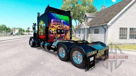 De la peau au Maximum Overdrive sur le camion Pe pour American Truck Simulator