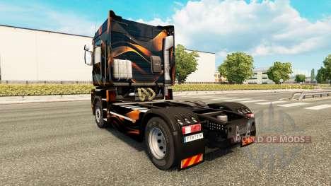 Mat de peau d'Orange pour Renault camion pour Euro Truck Simulator 2