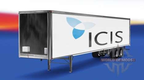 Haut-von ICIS auf den trailer für American Truck Simulator