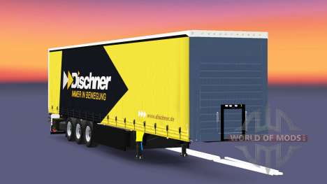 Rideau semi-remorque Schmitz Cargobull Dischner pour Euro Truck Simulator 2