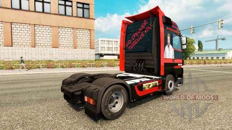 Spencer Hill peau pour le camion Mercedes-Benz pour Euro Truck Simulator 2