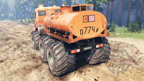 KamAZ-6522 Monstre pour Spin Tires