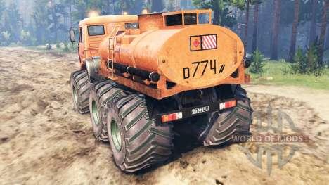 KamAZ-6522 Monster für Spin Tires