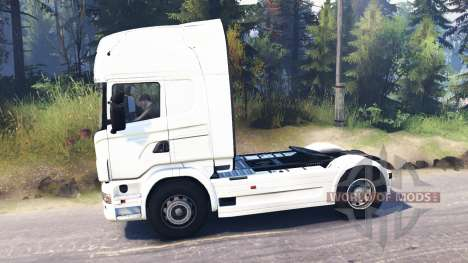 Scania R730 4x4 pour Spin Tires