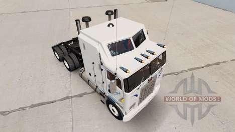 Walmart de la peau pour Kenworth K100 camion pour American Truck Simulator