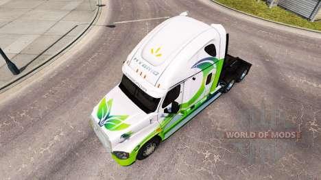 La peau HYBRIDE tracteur Freightliner Cascadia pour American Truck Simulator