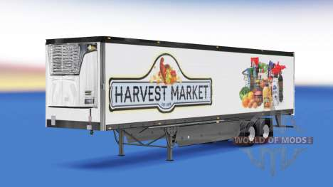 La peau de la Récolte de Marché sur l'arrière d' pour American Truck Simulator