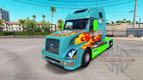 Skoal Bandit-skin für den Volvo truck VNL 670 für American Truck Simulator
