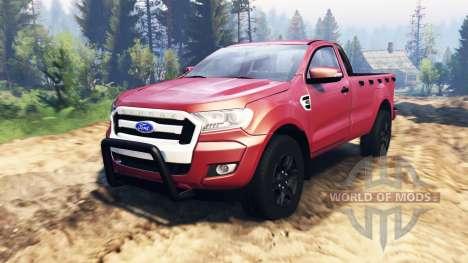 Ford Ranger 2016 v2.0 für Spin Tires