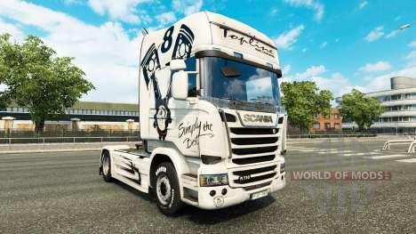 De la peau tout Simplement le Meilleur sur le tr pour Euro Truck Simulator 2