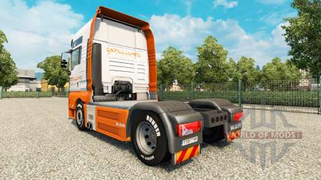 Excellence Transportes Haut für MAN-LKW für Euro Truck Simulator 2