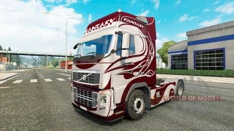 La fantaisie de la peau pour Volvo camion pour Euro Truck Simulator 2