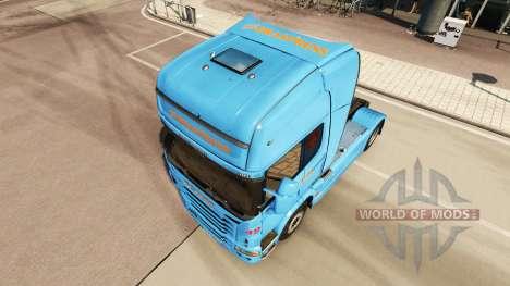 Braspress skin für Scania-LKW für Euro Truck Simulator 2