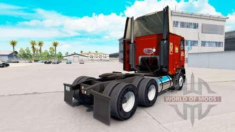 La peau de la TARTE sur un camion Freightliner F pour American Truck Simulator