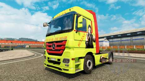 Haut Bülent Ceylan in LKW Mercedes-Benz für Euro Truck Simulator 2