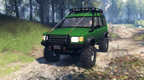 Land Rover Discovery v4.0 pour Spin Tires