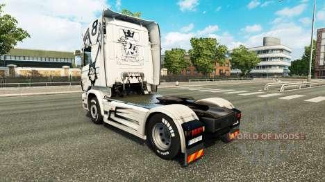 Haut Einfach das Beste auf der Zugmaschine Scani für Euro Truck Simulator 2