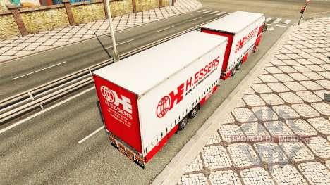 H. Essers de la peau pour MAN TGX tracteur routi pour Euro Truck Simulator 2