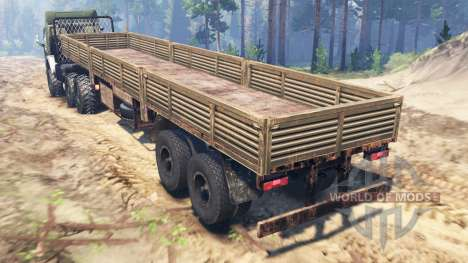 KamAZ-5410 6x6 für Spin Tires