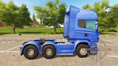 Scania R730 Topline pour Farming Simulator 2017