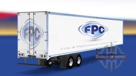 La peau Fine Et des produits Chimiques de Perfor pour American Truck Simulator