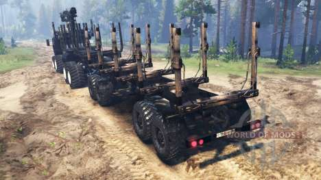 Oshkosh HEMTT M977 Huntsman für Spin Tires
