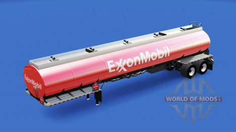 Haut ExxonMobil in den tank für American Truck Simulator