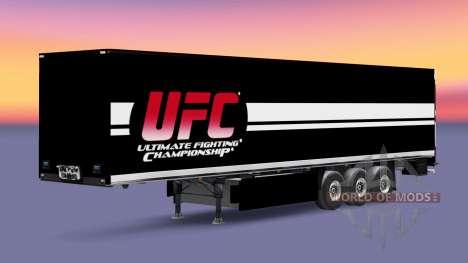 L'UFC de la peau pour les remorques pour Euro Truck Simulator 2