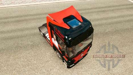 Spencer-Hill-skin für den truck, Mercedes-Benz für Euro Truck Simulator 2
