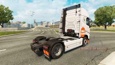 Farm Trans skin für Volvo-LKW für Euro Truck Simulator 2