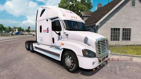 La peau de la Charge sur un camion Freightliner  pour American Truck Simulator