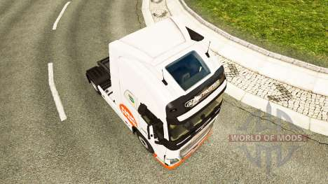 Ferme Trans peau pour Volvo camion pour Euro Truck Simulator 2