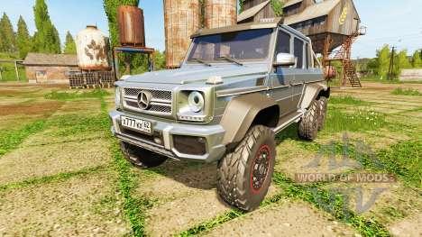 Mercedes-Benz G65 AMG 6x6 pour Farming Simulator 2017