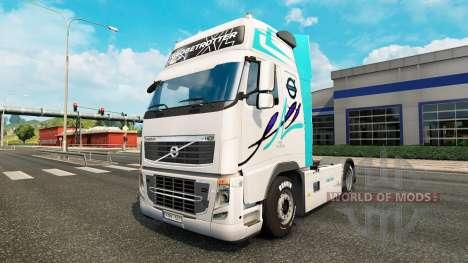 De la peau pour Volvo camion pour Euro Truck Simulator 2
