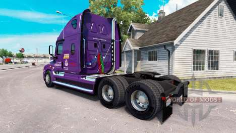 Скин Covenant Transport на Freightliner Cascadia für American Truck Simulator