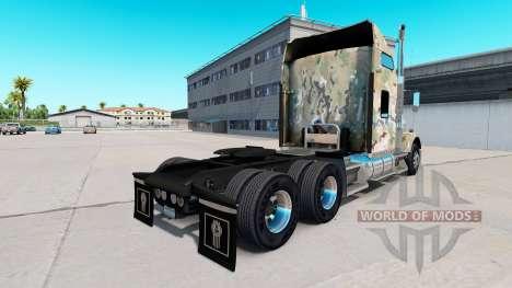 Haut Camouflage auf die LKW-Kenworth T800 für American Truck Simulator