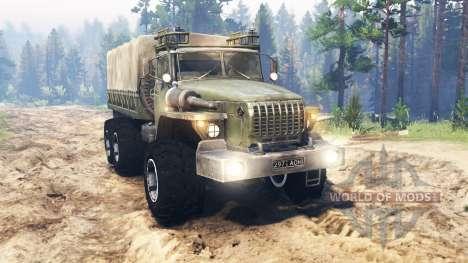 Ural-4320-10 pour Spin Tires