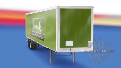 Haut Harrods v2.0 auf dem semi-trailer für American Truck Simulator