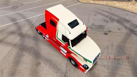 La peau De den Bosch pour Volvo camion et en EUR pour American Truck Simulator