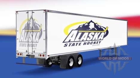 La peau de l'Alaska, de l'État de Hockey sur la  pour American Truck Simulator