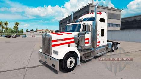 La peau de l'Autriche dans le camion Kenworth W9 pour American Truck Simulator