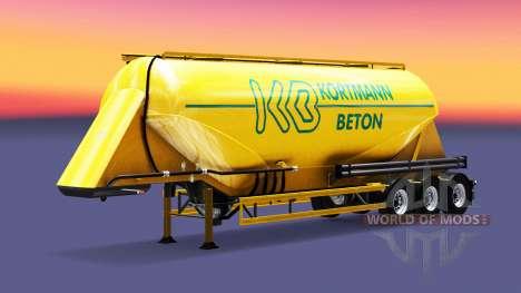Haut Kortmann Beton ist ein semi-tank für Euro Truck Simulator 2
