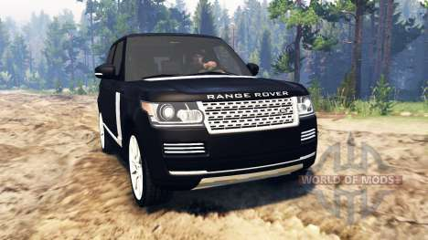 Land Rover Range Rover Vogue (L405) für Spin Tires
