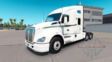 La peau de BIG D sur les camions de Transport pour American Truck Simulator