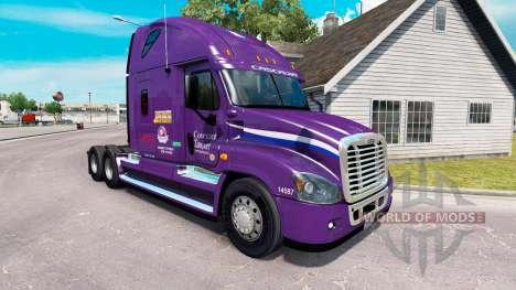 Скин Pacte de Transport на Freightliner Cascadia pour American Truck Simulator